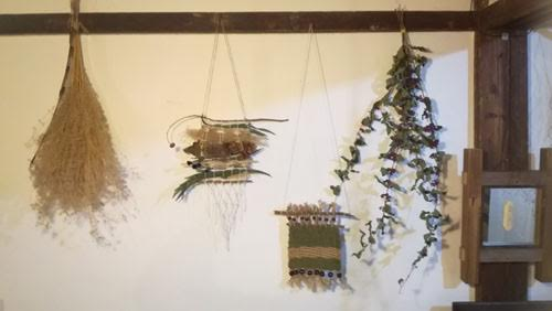 "MAPLE BASE 1st ANNIVERSARY""ORICCO""WORKSHOP/BOTANICAL HANDWEAVING TAPESTRY"