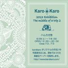Karo Karo 2013 Exhibition The middle of a trip2