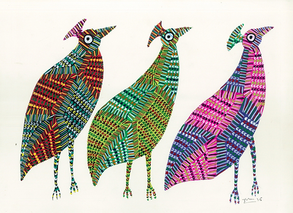 GOND ART of India「先住民族の祈りのアート」展