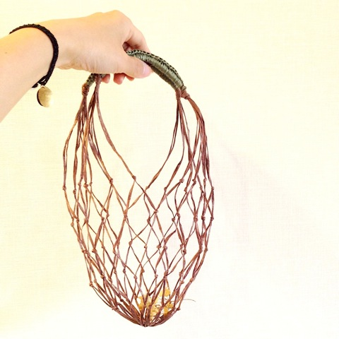 夏のSMALL Net Bag WORK SHOP@西宮阪急