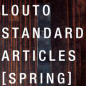 LOUTO STANDARD ARTICLES[SPRING]