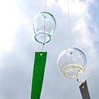 夏の特別企画「ガラスの風鈴」作り
