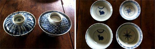 古九谷 茶碗