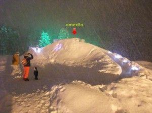 アイスビレッジ滑り台
