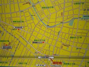 西荻窪 MAP