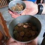 硬貨が108枚