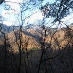 渓谷ゴールの展望台
