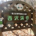 西沢渓谷入口