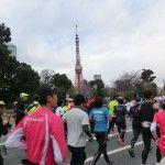 東京タワーと一緒にパチリ