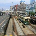 長崎といえば路面電車♪