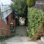 長崎の坂道
