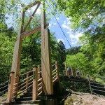 竜門橋からスタート