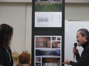 優秀賞 西浦敬雅さん(左)と審査員・大野正博さん