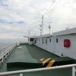 小豆島へはフェリーで向かいます