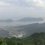 寒霞渓の展望台