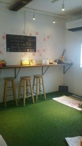 芝生カフェ
