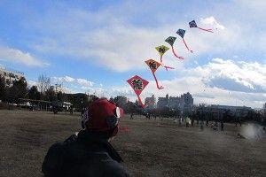 手作り凧あげ大会