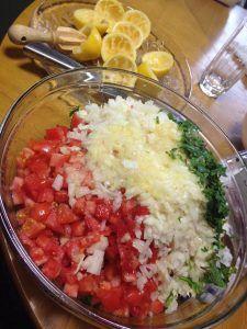 レバノン料理