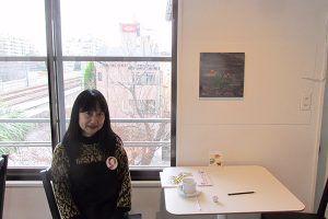 詩人の平岡淳子さん