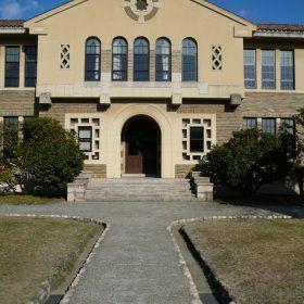 宝塚で仕事をした際に見学した、神戸女学院。