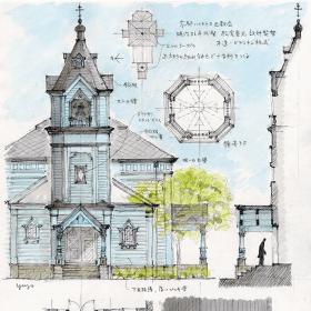 京都ハリストス正教会 生神女福音聖堂
