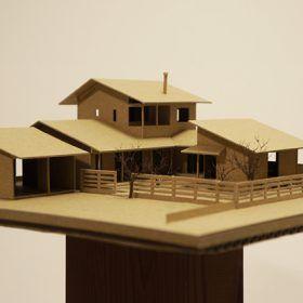 水戸の家II 模型