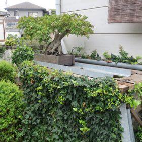 手作り雨水槽