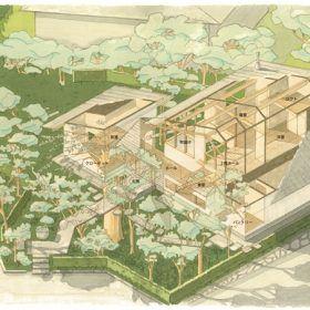 アイソメ図(笠間の家)