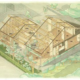 アイソメ図(水戸の家)