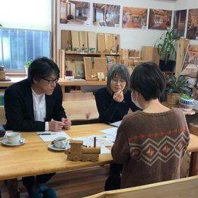 大丸建設オープンカフェで設計相談会