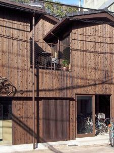 自転車カフェ