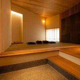 玄関の和室