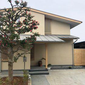 年初に竣工した小さな住宅