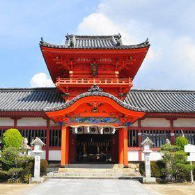 道後温泉「伊佐爾波神社」