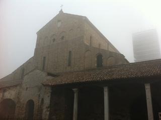 トルチェッロ島のSanta Maria Assunta聖堂外観。こちらも内部撮影不可(※)