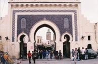 旧市街の玄関・ブージュルード門