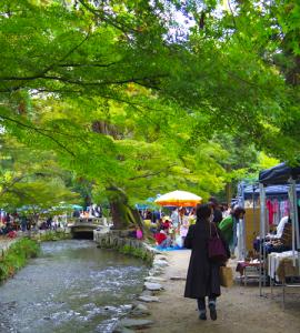 小川と緑の手づくり市