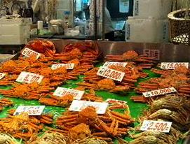 近江町市場 蟹