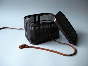 第50回東日本伝統工芸展入選作『千筋組小筥(せんすじくみこばこ)』