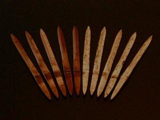 竹の菓子切