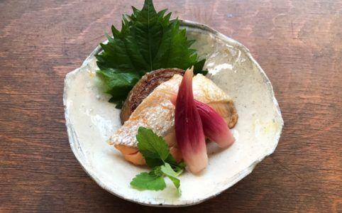 塩鮭と玉ねぎのソテー