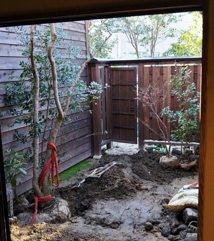 室生犀星の庭作り