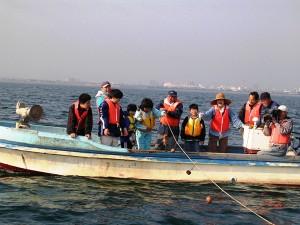 子どもの漁業体験は、漁師さんへ強力な応援