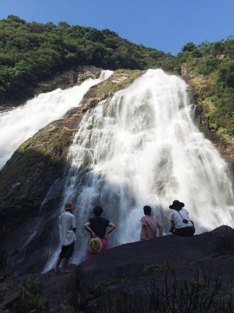 70年ぶりの大雨で迫力の大川(おおこ)の滝