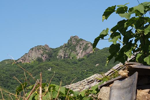 地域の人の心の拠り所である洞雲山(どううんざん)