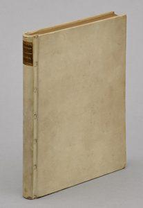 シュニッツラー『アナトール』 1901年挿絵入り版 ベラム革装天金