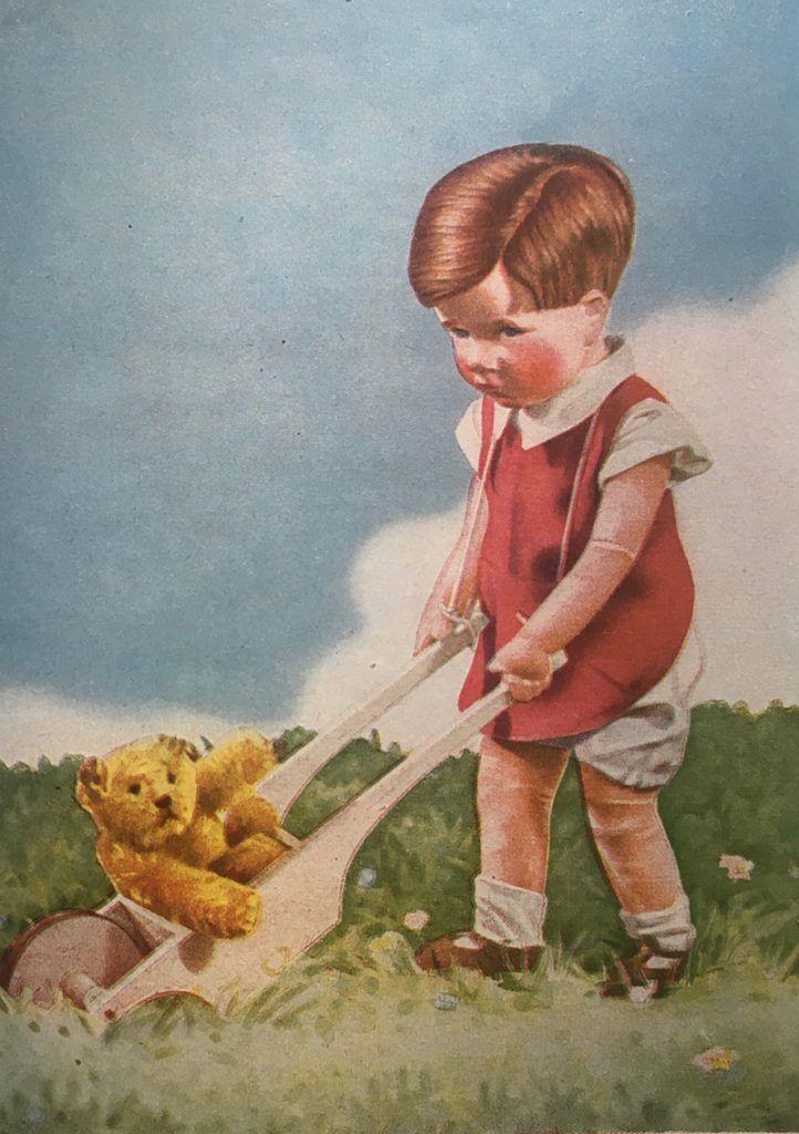 ケーテ・クルーゼ人形の絵本より(1940年代)