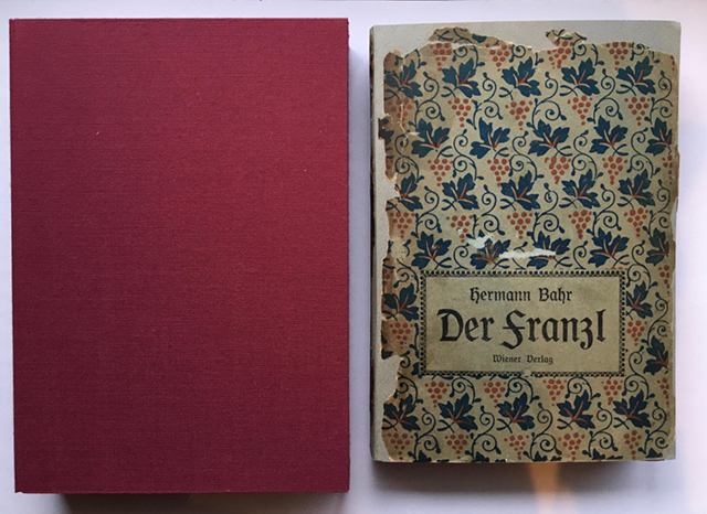 ヘルマン・バールの本と夫婦箱