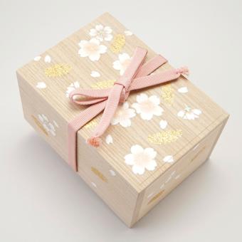 桐のお針箱(小)〈きりがね桜〉21,000円 (税込 送料別途)